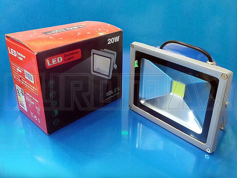 Лампочка LED 20W прожектор 4013 - Магазин-склад электроники и бытовой техники «Euromax» в Одессе