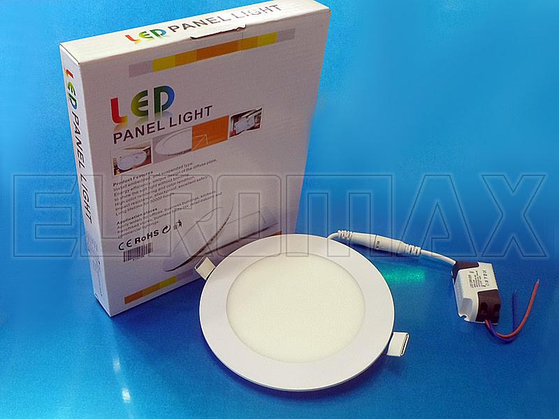Лампочка LED 9W врезная круглая 1406