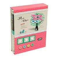 """Фотоальбом магнитный на 20 листов """"Умиление"""", в коробке, розовый"""