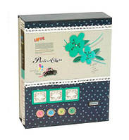 """Фотоальбом магнитный на 20 листов """"Умиление"""", в коробке, синий"""