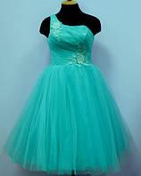 Платье-пачка  Мятный цветок