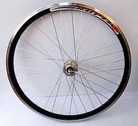Колесо 27.5'' двойной алюминиевый обод байк заднее (алюм пром втулка под диск эксцентрик)