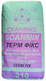 Клей для пенопласта и мин. ваты SCANМIX TERM FIX (Сканмикс Терм Фикс)