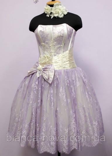 Платье-пачка  Нежность