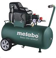 Компресор Metabo Basik 250-50W OFF (1,5Вт; 8бар; 220л/хв) /601535000