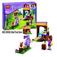 """Конструктор Bela Friends 10536 """"Спортивный лагерь: стрельба из лука"""" (аналог LEGO Friends 41120) 117 дет"""