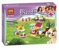 """Конструктор Bela Friends 10532 """"Дрессировка щенка"""" (аналог LEGO Friends 41088), 65 дет"""