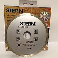 Диск алмазный отрезной STERN 125 C сплошной (плитка)
