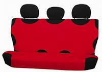 Майка сидения задняя красная х/б  Milex