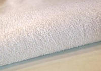 Водонепроницаемая махровая ткань для наматрасников 160 г/м2