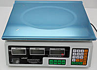 Торговые весы А-Плюс 1655: 23х33 см, погрешность 5 г, измеряемая масса 0,2-40 кг, подсветка