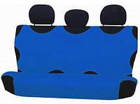 Майка сидения задняя темно-синяя х/б  Milex