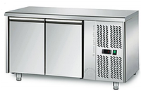 Холодильный стол на 2 двери без борта GGM KTS147N (-2…+8°С) 1,36х0,7 м