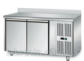 Холодильный стол на 2 двери с бортом GGM KTS147AN (-2…+8°С) 1,36х0,7 м