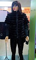 Женская норковая жилетка модельная