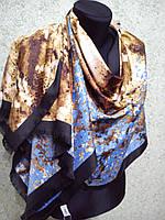Палантин S брендовый UNGARO шелк, 60х180см, цв. 2