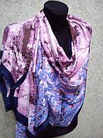 Палантин S брендовый UNGARO шелк, 60х180см, цв. 3