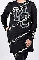 Стильная туника для женщин с карманами 21353