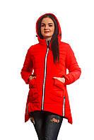Женская куртка К-016 Красный