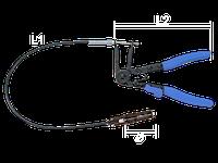 Клещи для хомутов с гибким удлиннителем King Tony 9AA31