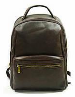 Рюкзак мужской кожаный коричневый 31143
