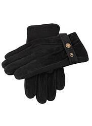 Мужские замшевые и трикотажные перчатки.