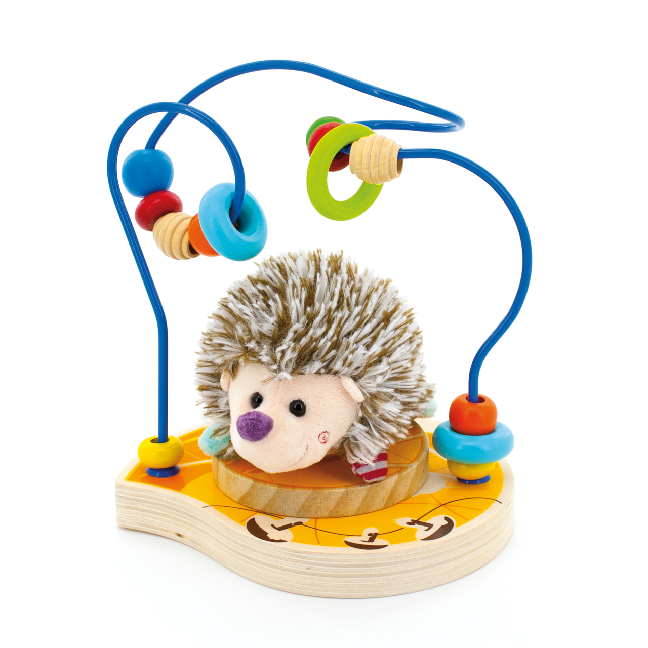 Деревянная игрушка МДИ Лабиринт Ежик Д385