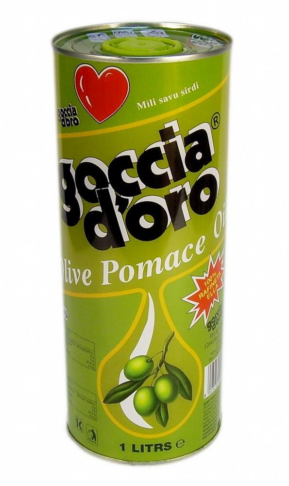 Оливковое масло из жмыха оливок (1л)