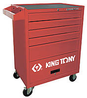 Тумба инструментальная  5 полок CASTER  King Tony ST87432-5B