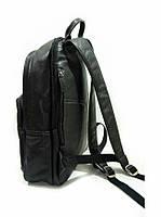 Рюкзак кожаный чёрный 69514