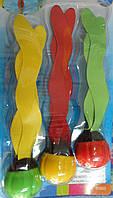 Игрушки водоросли тонущие для ныряния в бассейне Intex 3шт. в комплектек