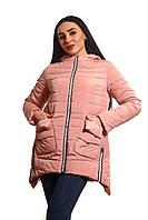 Женская куртка К-016 Пудра