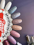 Гель-лак My Nail №340 (серый,эмаль) 9 мл, фото 2
