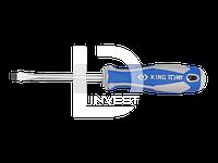 Отвёртка шлицевая  Sl  5,0Х300 (уп.12) King Tony  14220512