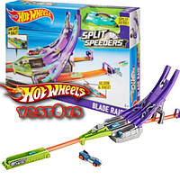 Hot Wheels Split Speeders Blade Raid Track Set ( Хот Вилс Острые лезвия серии Молниеносные половинки )