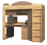 """Кровать со столом и шкафом """"Кровать-чердак"""", фото 2"""