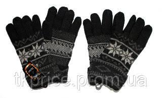 Перчатки мужские из шерсти
