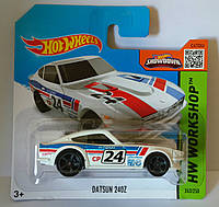 2015 Hot Wheels - Datsun 240Z- White Variant - Rare Short Card 243/250 (Канада)