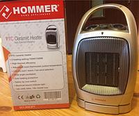 Керамический тепловентилятор Hommer, 1500 Вт, термостат, вентилятор, защита от перегрева, 220 В