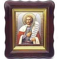 Фигурная икона Александр Невский