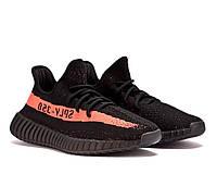 Кроссовки мужские Adidas Yeezy Boost 350 V2 Black, фото 1