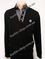 Стильная мужская кофта черного цвета 41184