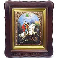 Фигурная икона Георгий на коне