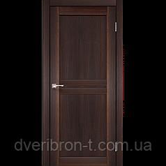 Двери Корфад Milano ML-01 глухое орех, дуб грей, беленый дуб