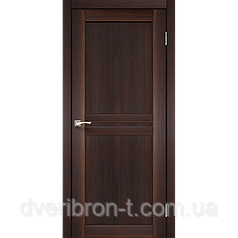 Двери Корфад Milano ML-01 орех глухое