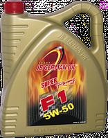 Моторное масло Super F1 Rasing SAE 5W-50 Vollsynthese (4л)