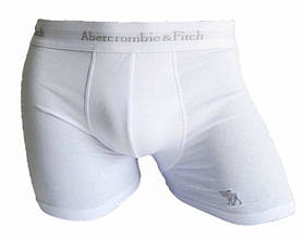 Трусы боксеры Abercrombie & Fitch reindeer белый, L