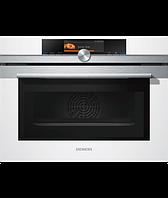 """Компактный духовой шкаф электрический с функцией """"микроволновая печь""""  Siemens CM678G4W1"""
