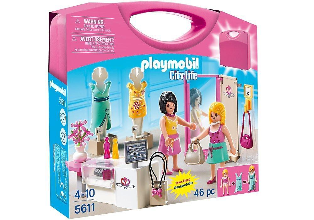 Playmobil 5611 Конструктор - Переносний магазин одягу (Возьми с собой Переносной магазин  5611, Плей