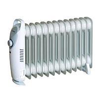 Масляный радиатор A-Plus 1988, механическое управление, 1,3 кВт, 12 секций, защита от перегрева